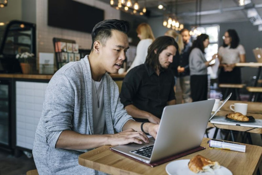Many millennials think they'll start their own company in the next five years.