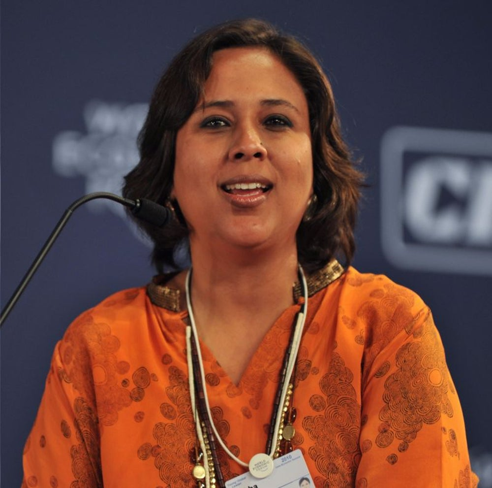Barkha Dutt (6.4M - Followers)