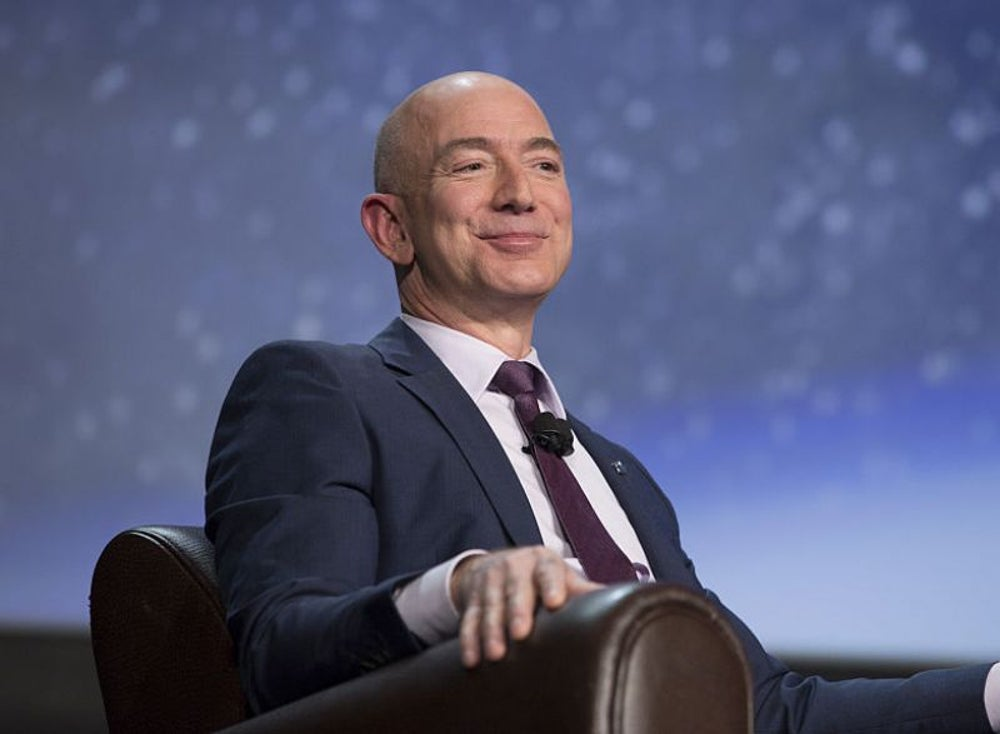 Jeff Bezos is always hungry for what's next -- can you relate?