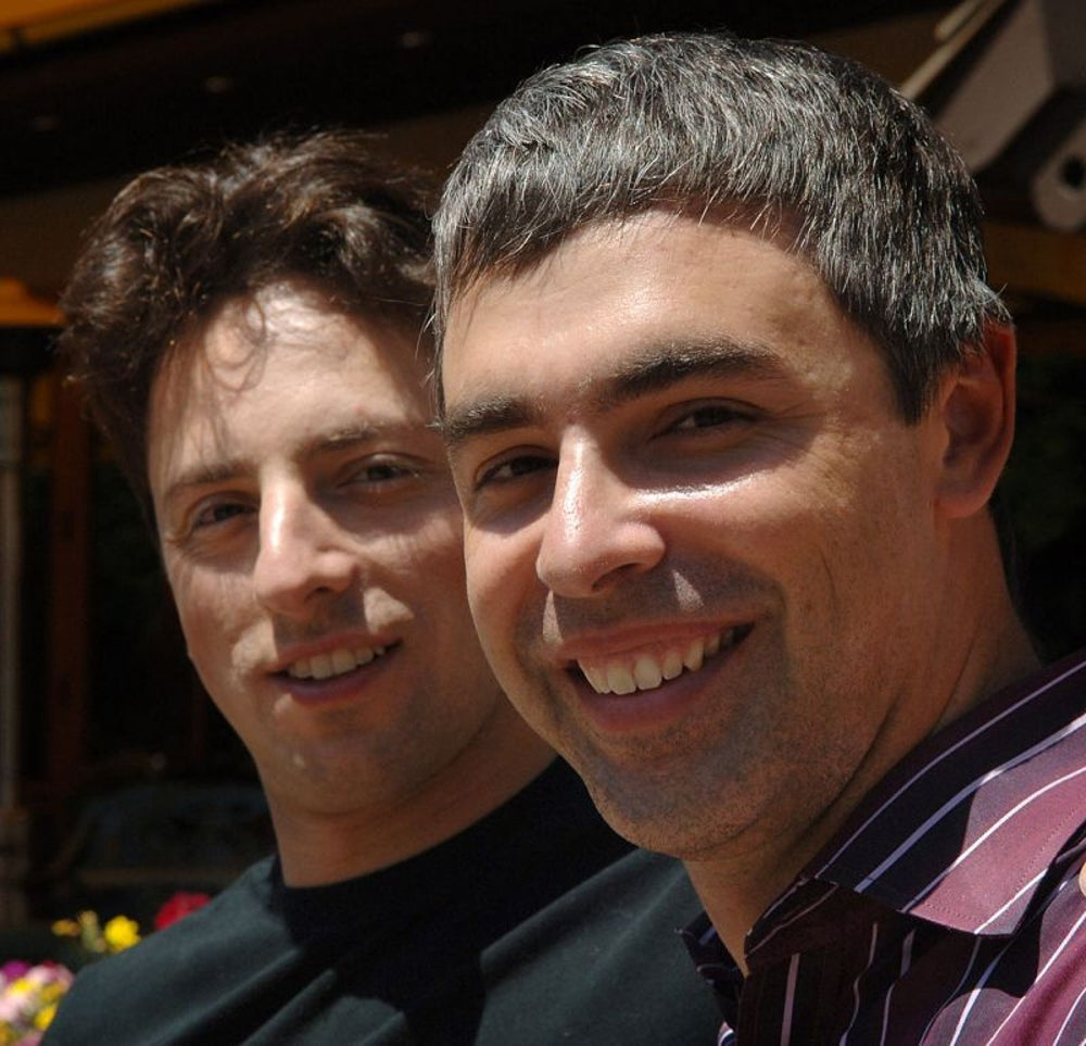 Are you able to focus on multiple projects? Sergey Brin and Larry Page can.