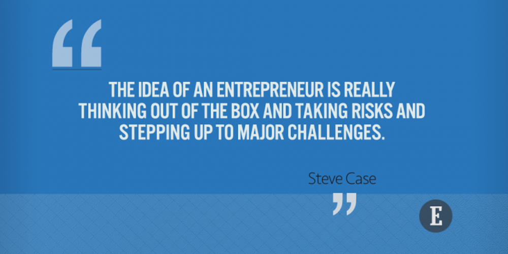 On entrepreneurship