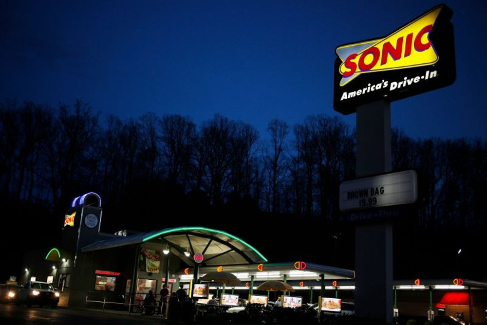 Customers' credit card information at fast-food chain Sonic Drive-In