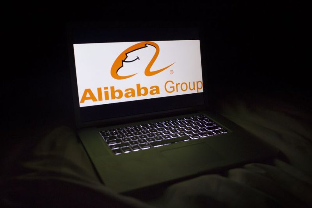 He announced Alibaba in a videotaped meeting from his small apartment.