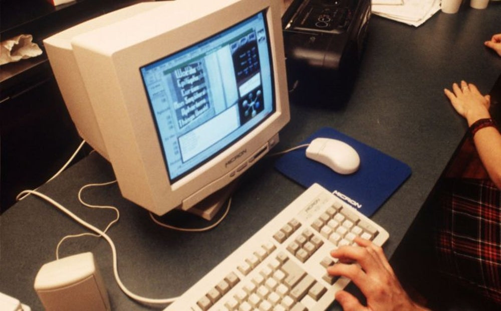 He was first introduced to the internet in 1995.
