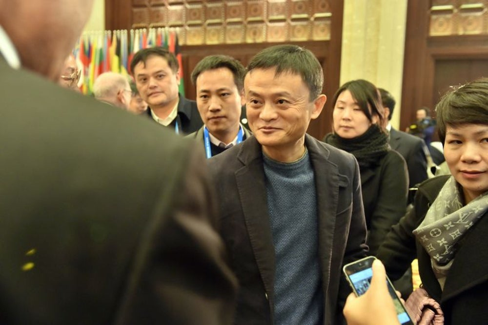 Alibaba holds the record for most money raised in an IPO.