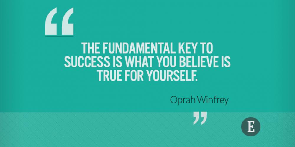 On success
