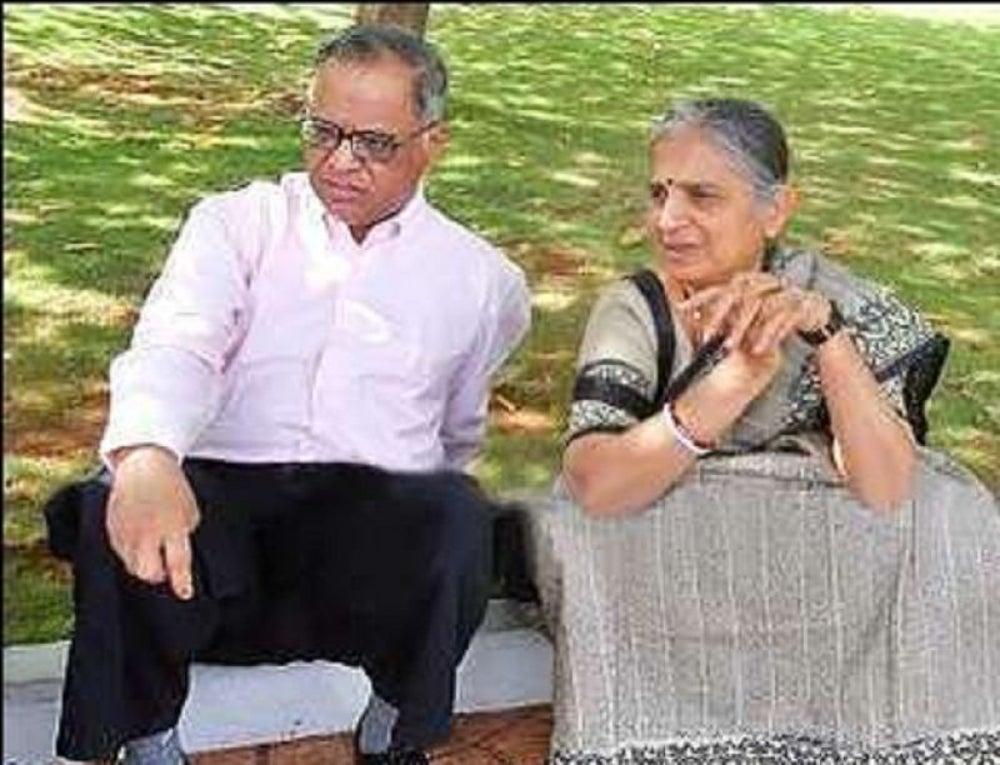 Narayan Murthy and Sudha Murthy