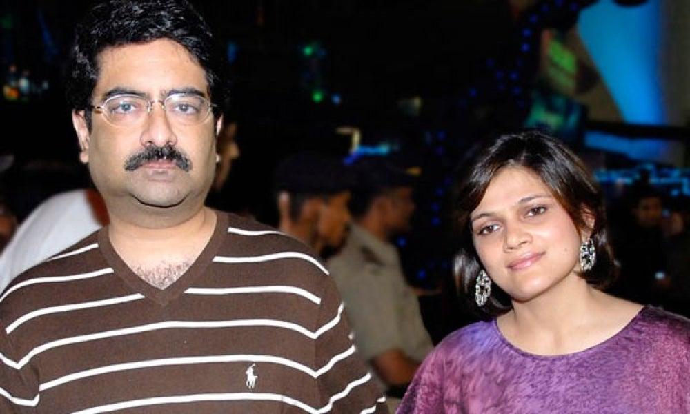 Kumar Mangalam Birla and Neerja Birla