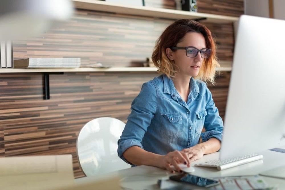Online work is increasing.