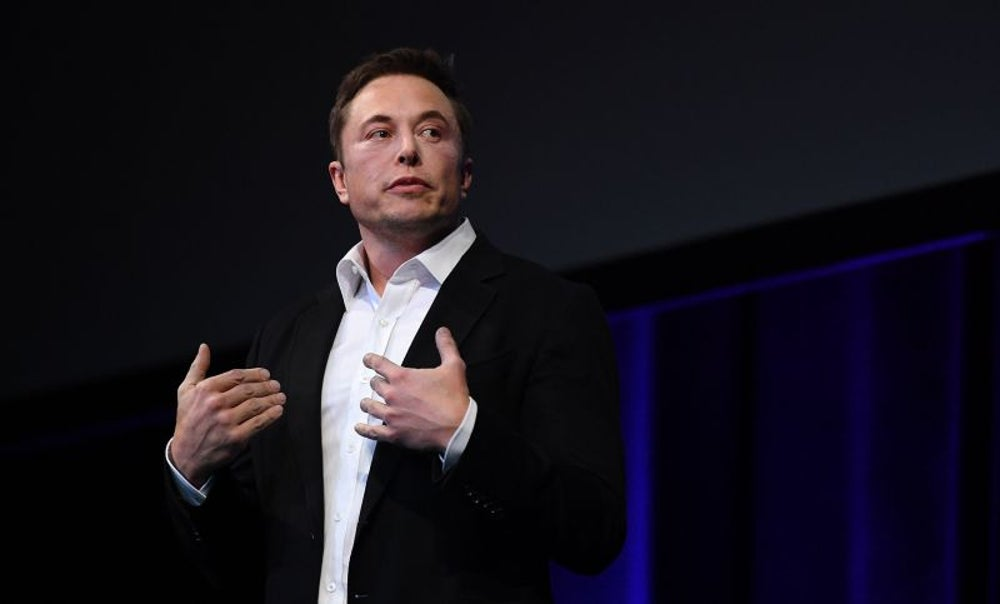 Elon Musk reminded him he's not a tech guy.