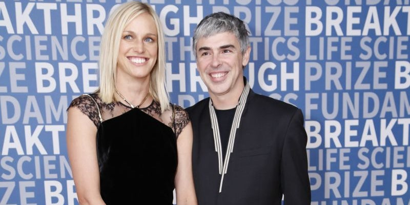 A New Year's Eve pledge with Larry Page turned into something more.