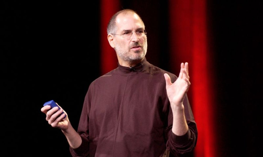 Branson inspired Steve Jobs to create the iPod.