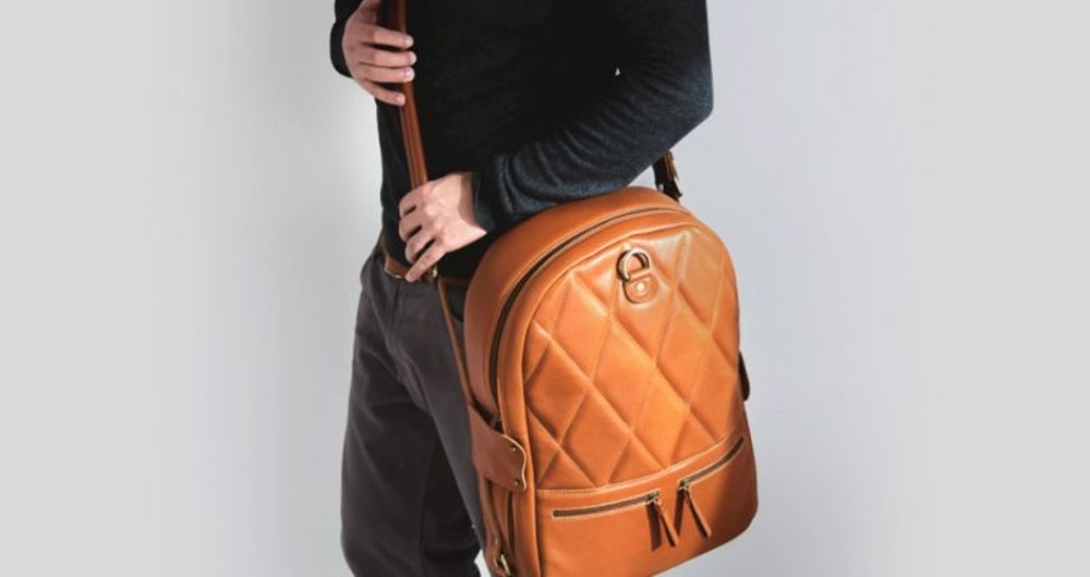 'The most practical leather backpack'