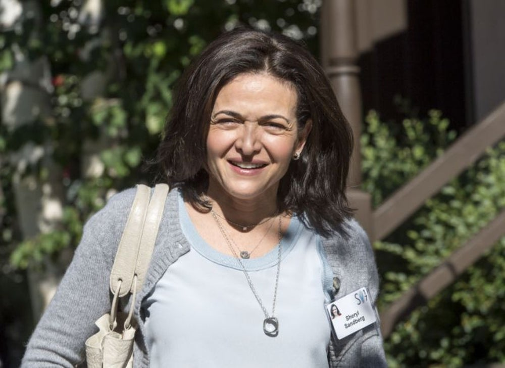 Sheryl Sandberg leaves the office at 5:30 p.m. every day.