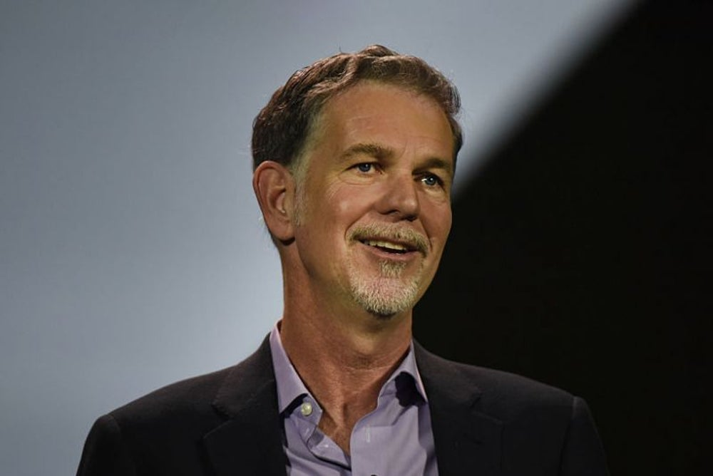 Reed Hastings takes six weeks of vacation a year.