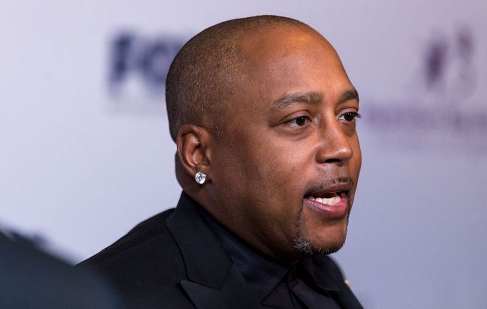 Shark Tank's Daymond John spends his Sundays fishing.
