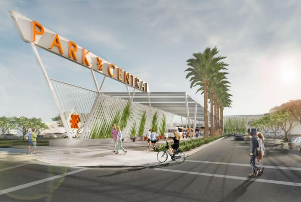 Phoenix -- a proposal to move inside a renovated version of the city's first shopping mall.