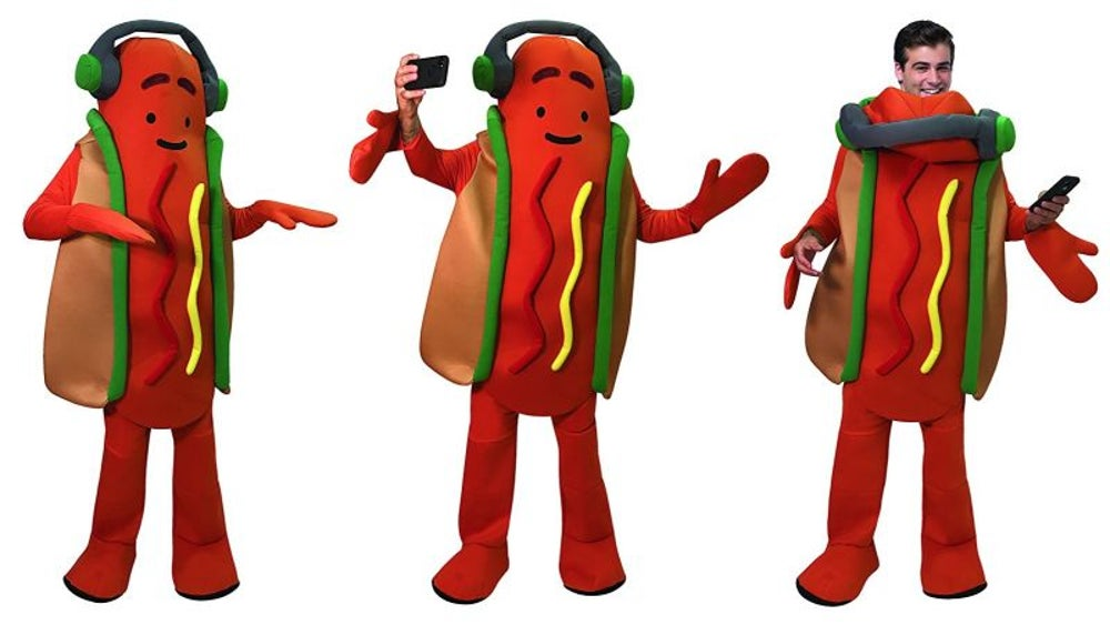 Snapchat's dancing hot dog