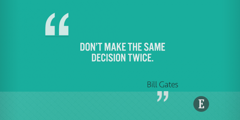 On decision-making