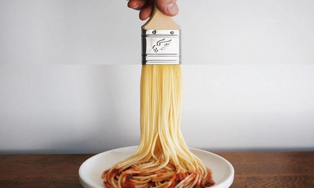Paintbrush + Spaghetti