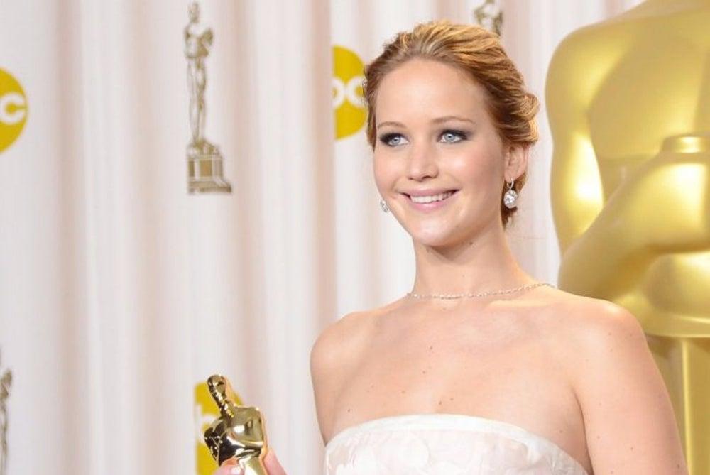 Actress Jennifer Lawrence was an Oscar-winner raking in millions.