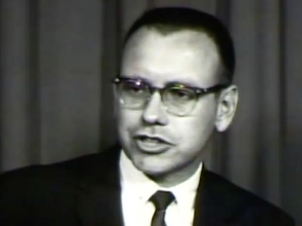Investor and Berkshire Hathaway Chairman Warren Buffett was working as an investment salesman in Omaha.