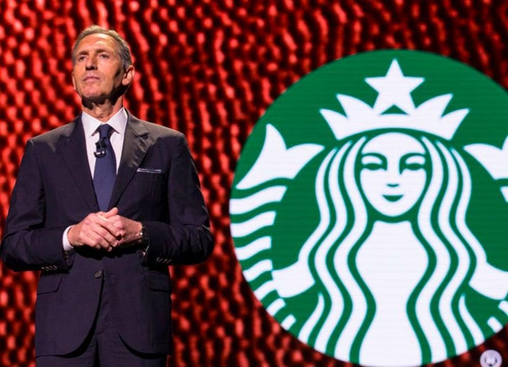 Starbucks Executive Chairman Howard Schultz was a Xerox salesman.