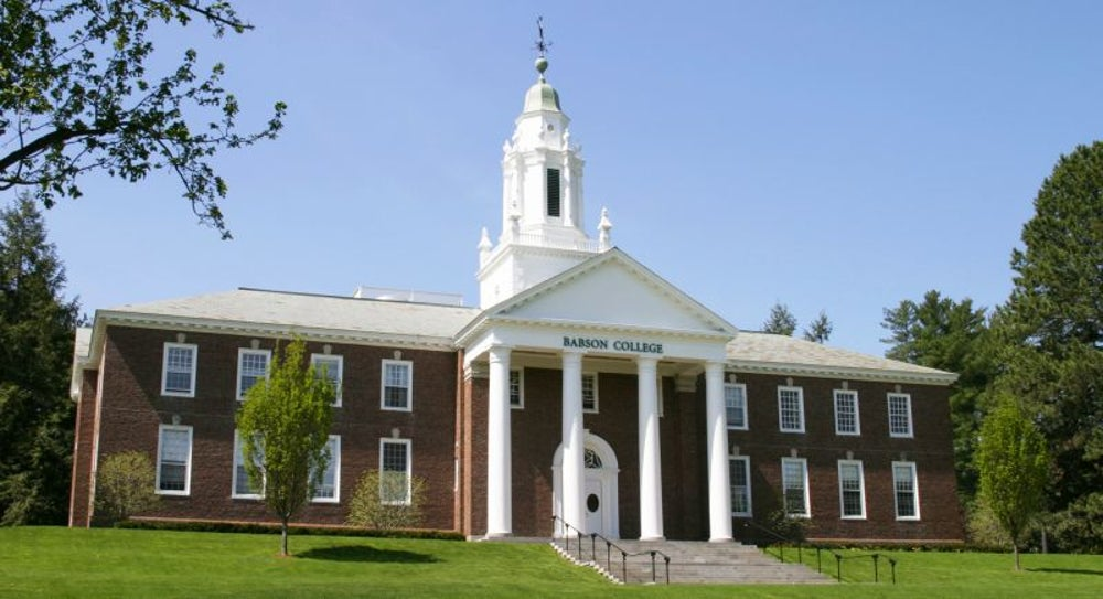 3. Babson College