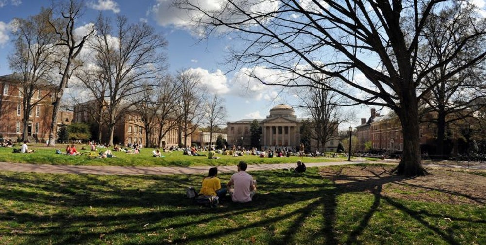 15. University of North Carolina at Chapel Hill