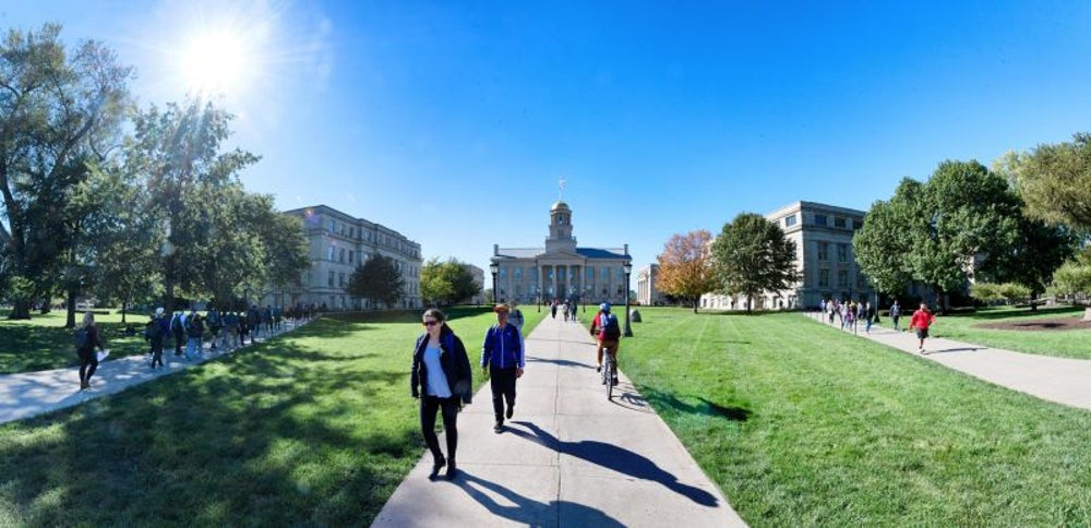 16. The University of Iowa