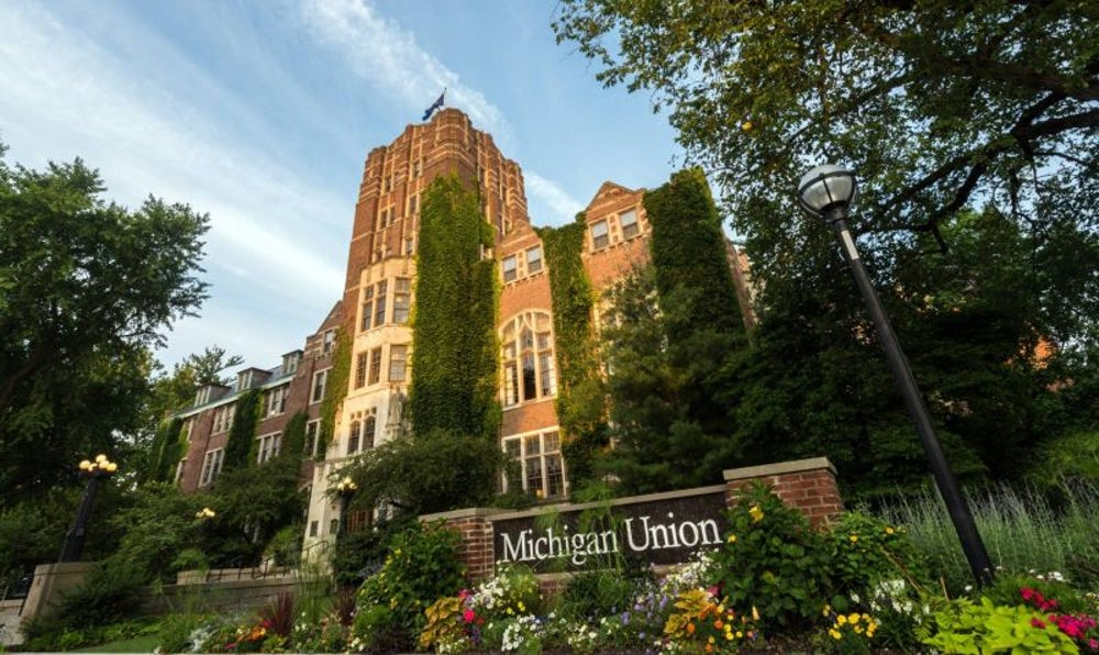 1. University of Michigan – Ann Arbor