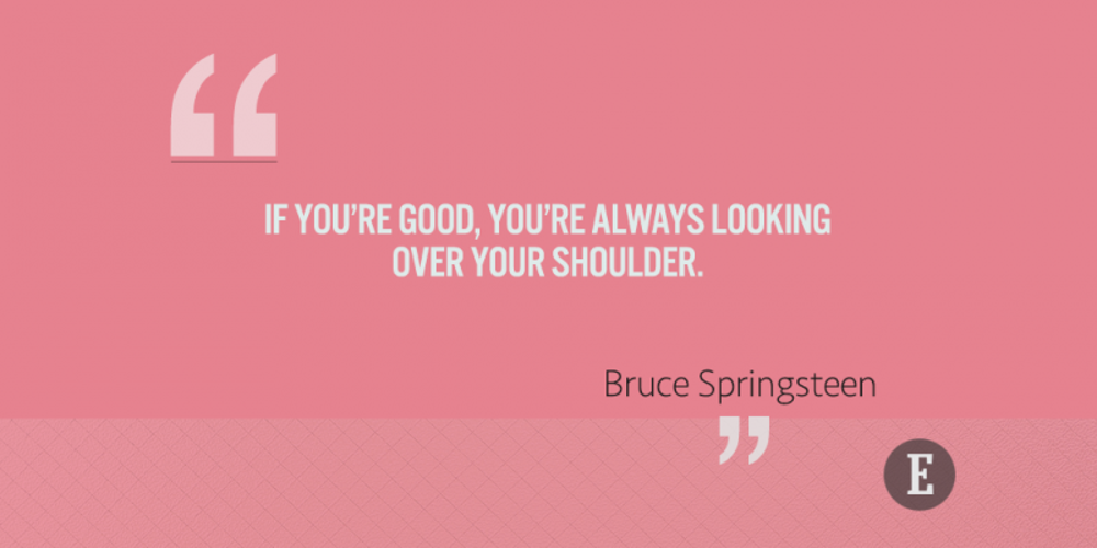 10 Bruce Springsteen Quotes on Success, Love and Rock n\' Roll