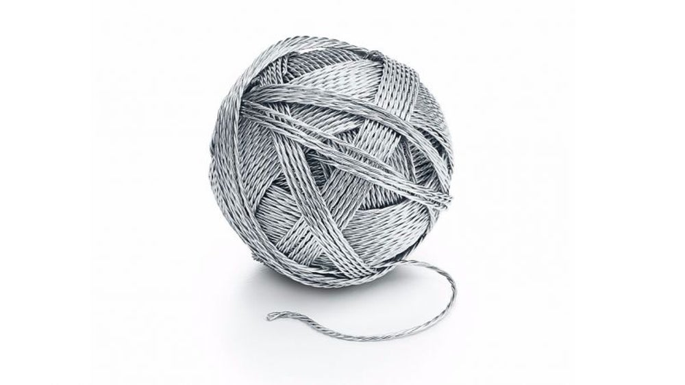 Tiffany's $9,000 silver ball of yarn