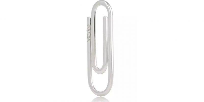 Prada's $185 paper clip