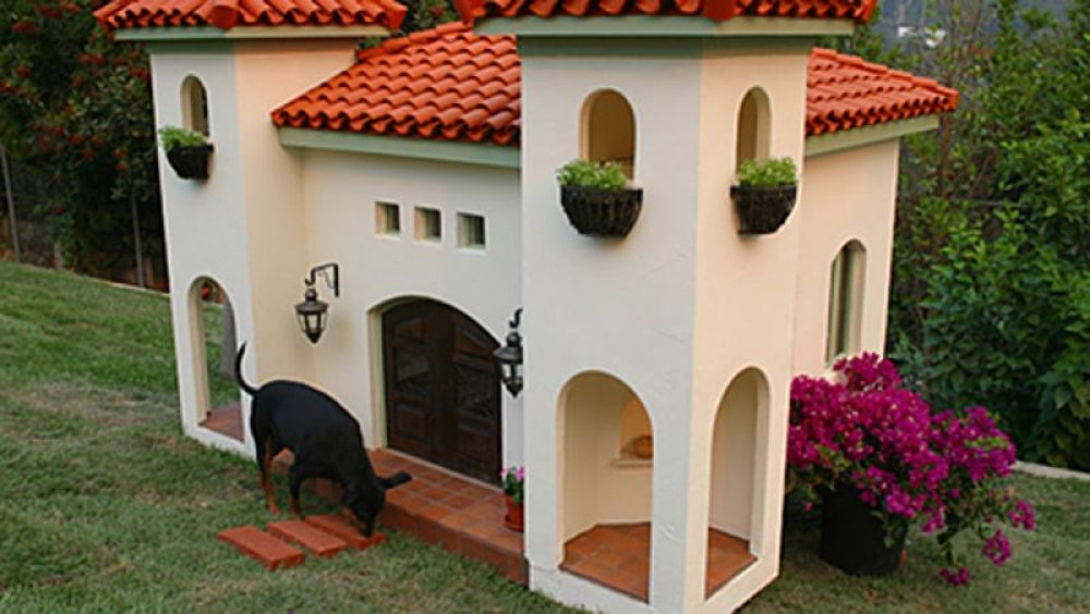 Luxury dog mansions