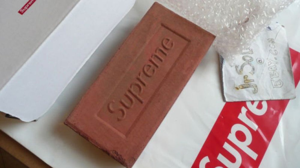 Supreme's red clay brick