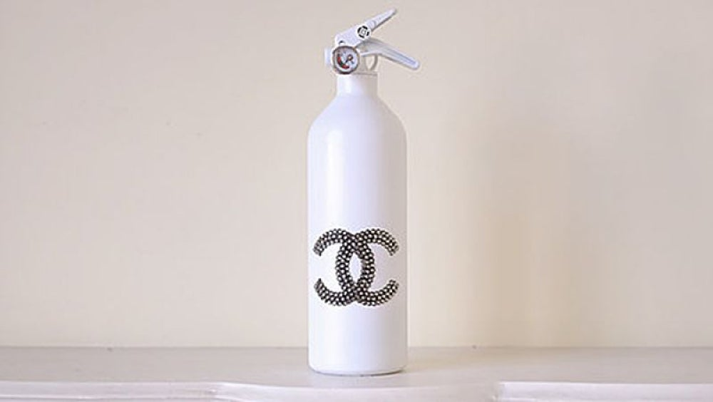"""Chanel"" fire extinguisher"
