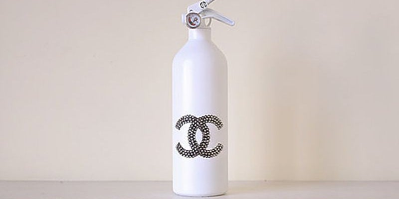 """""""Chanel"""" fire extinguisher"""