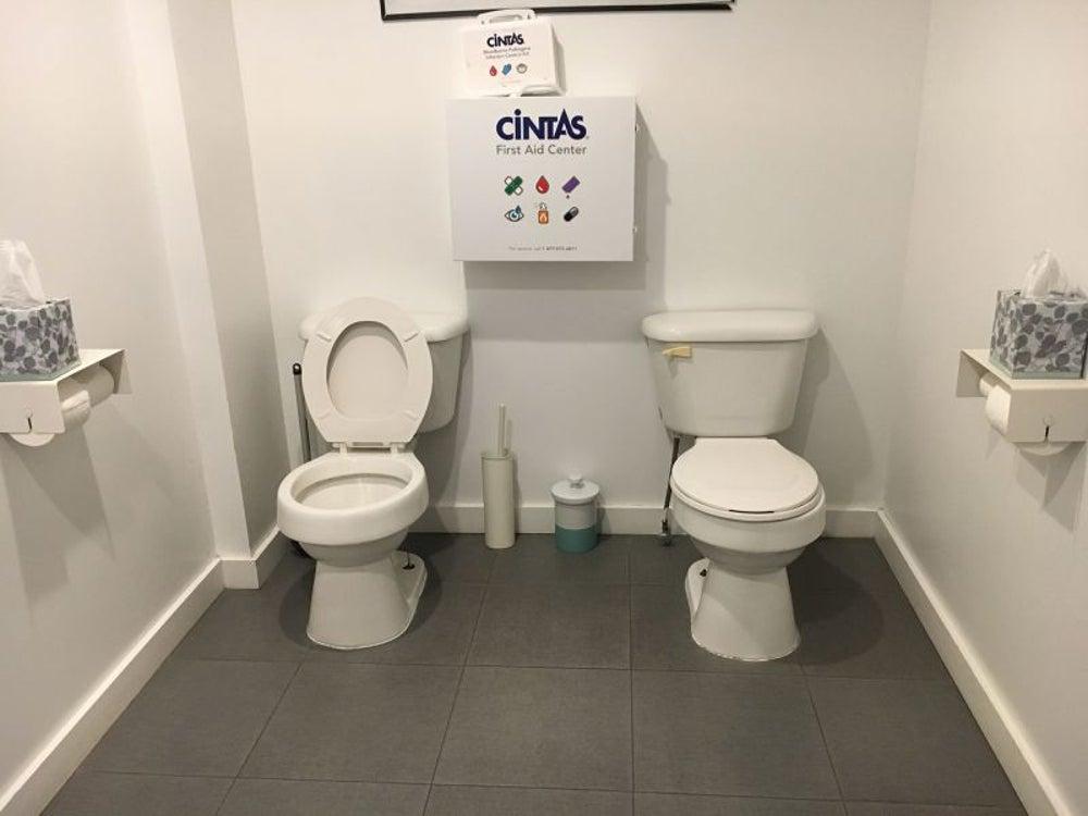 Bathroom bonding