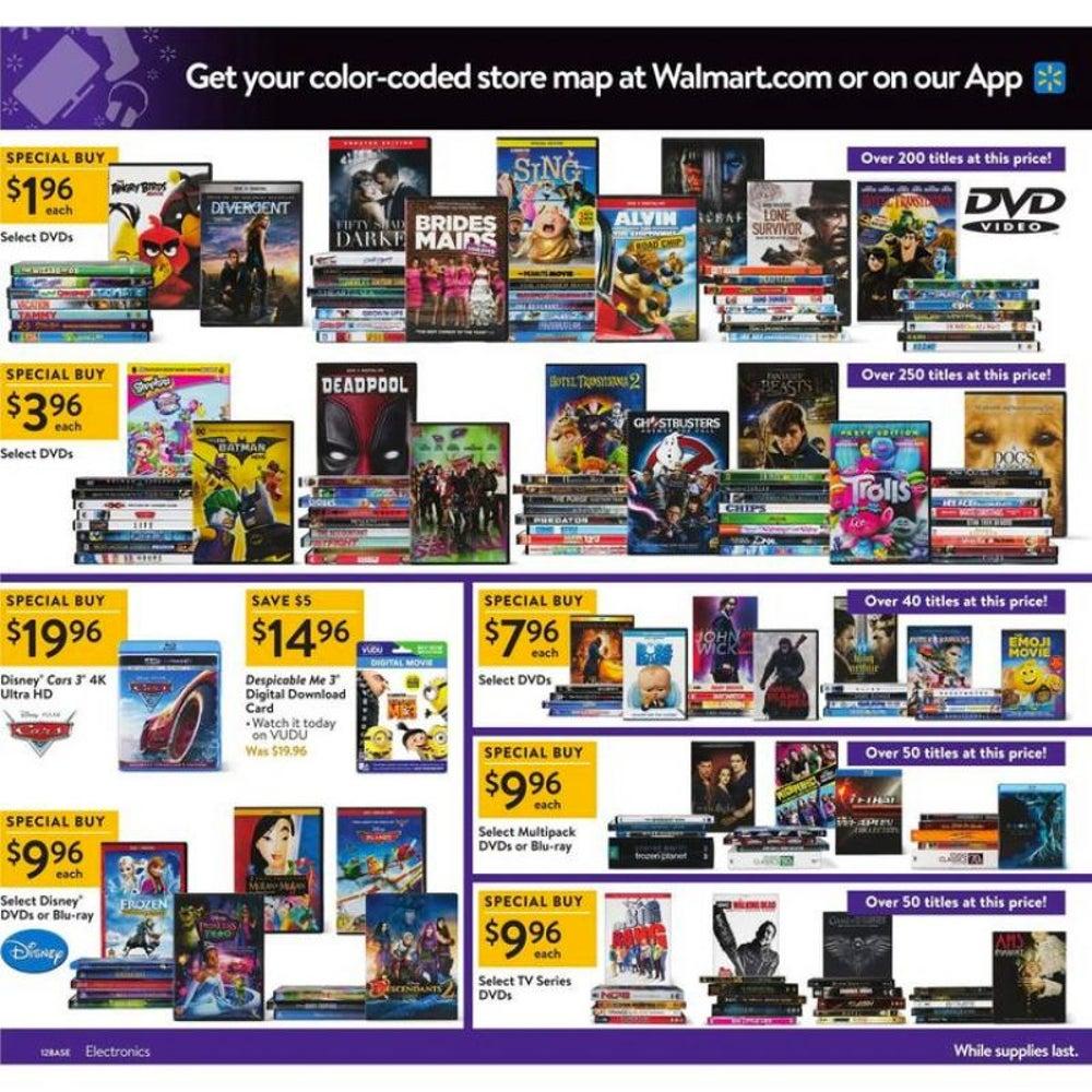 DVD/Blu-rays