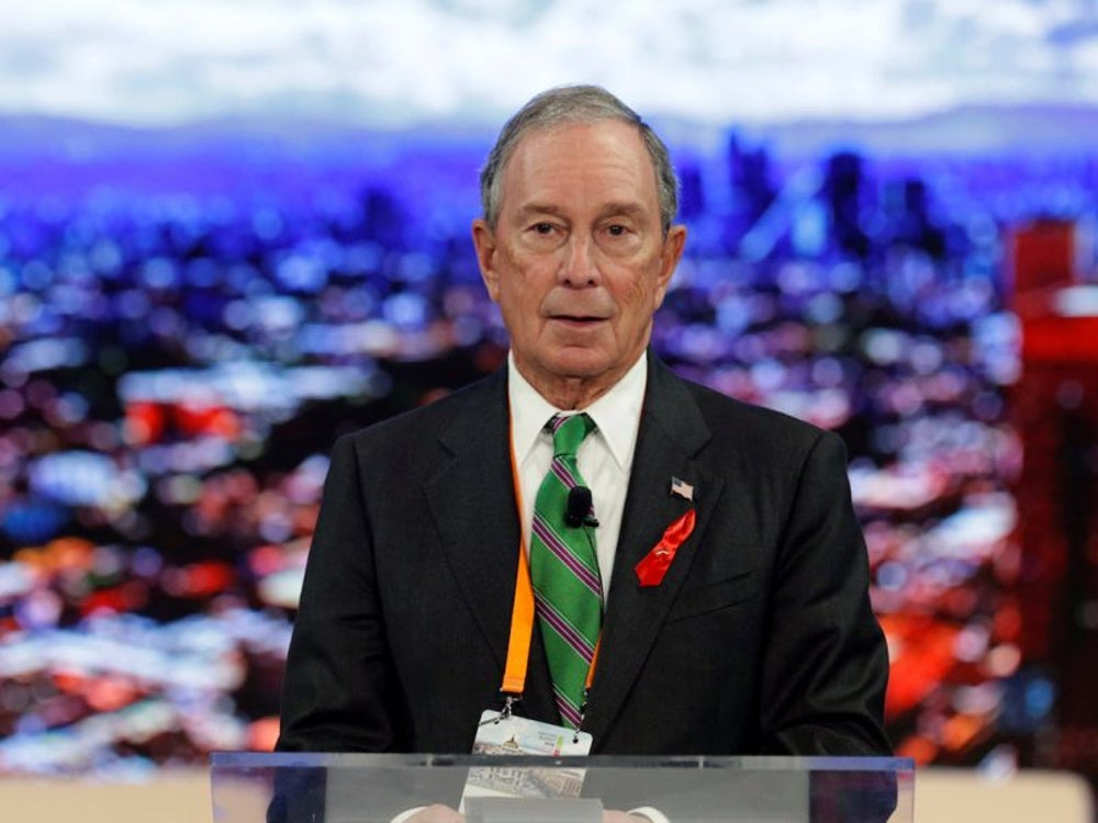 Michael Bloomberg -- $47.1 billion