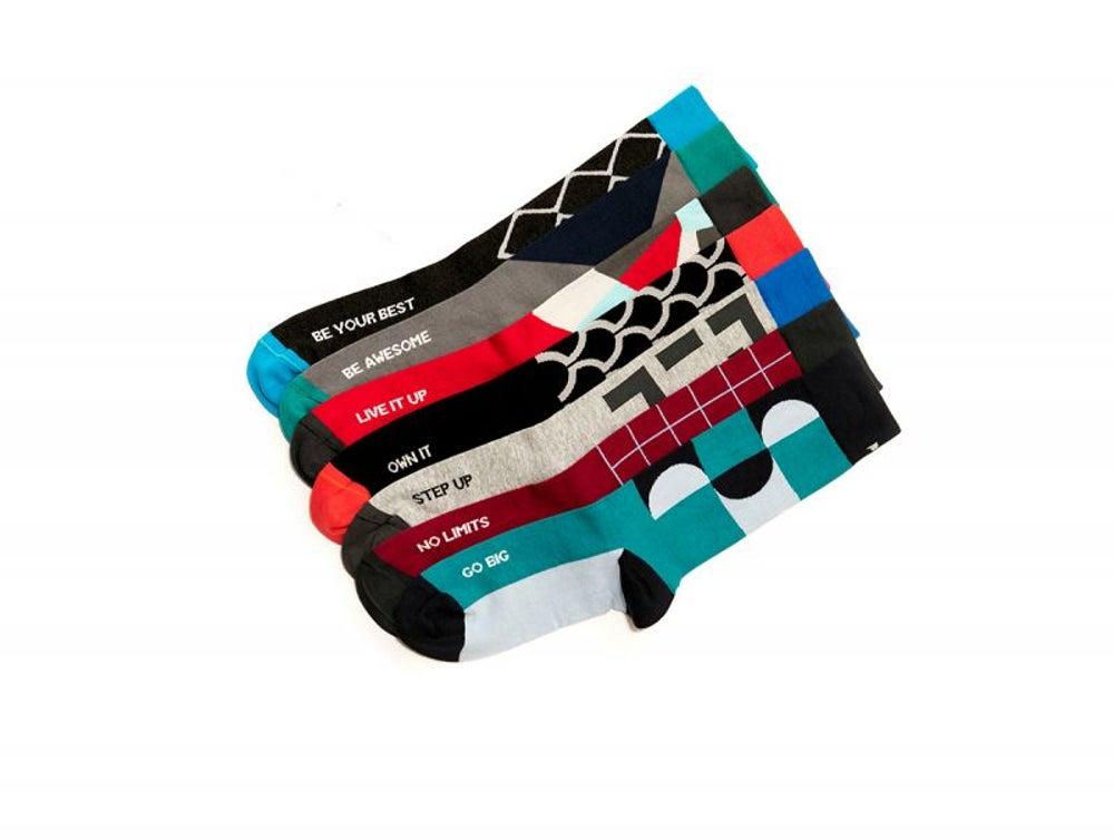 Inspiring socks