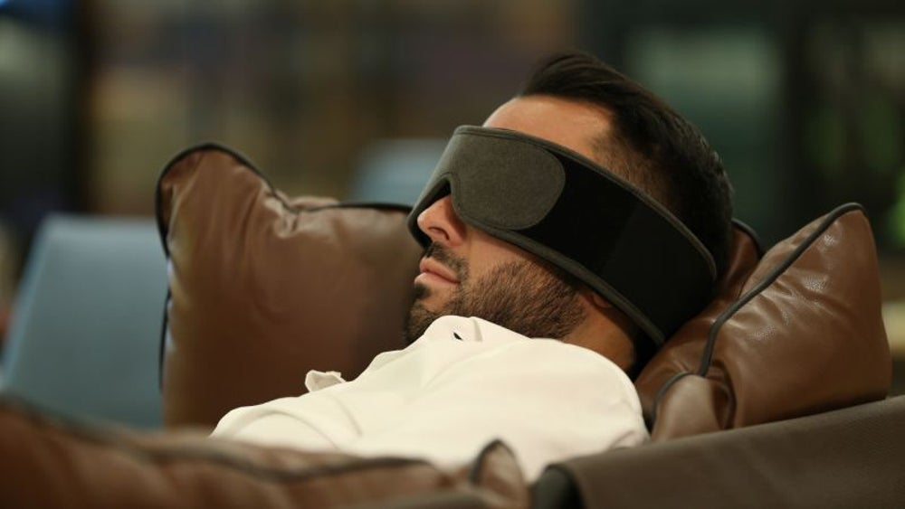 Silentmode power nap mask