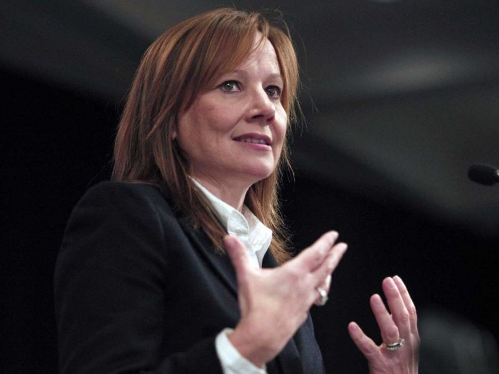 Mary Barra -- General Motors