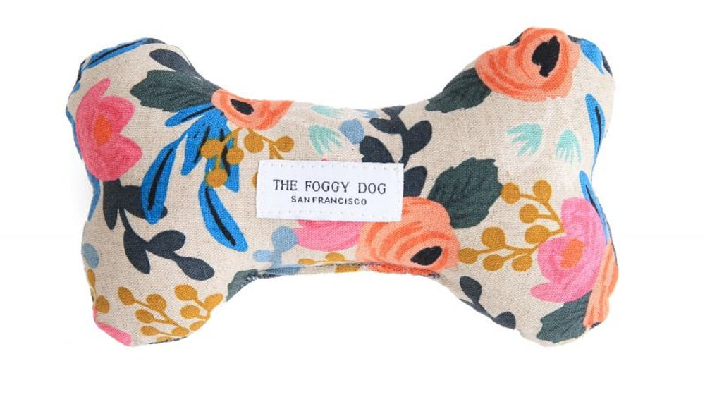 The Foggy Dog squeaker toy