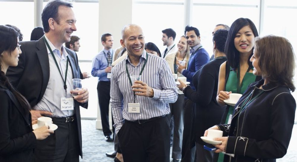 Attend a networking event.