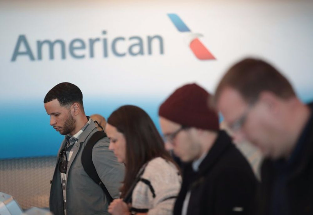American Airlines gives too many pilots vacation time over the holidays.