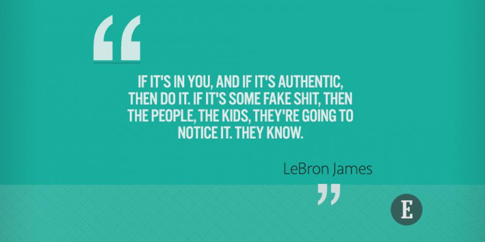 On authenticity