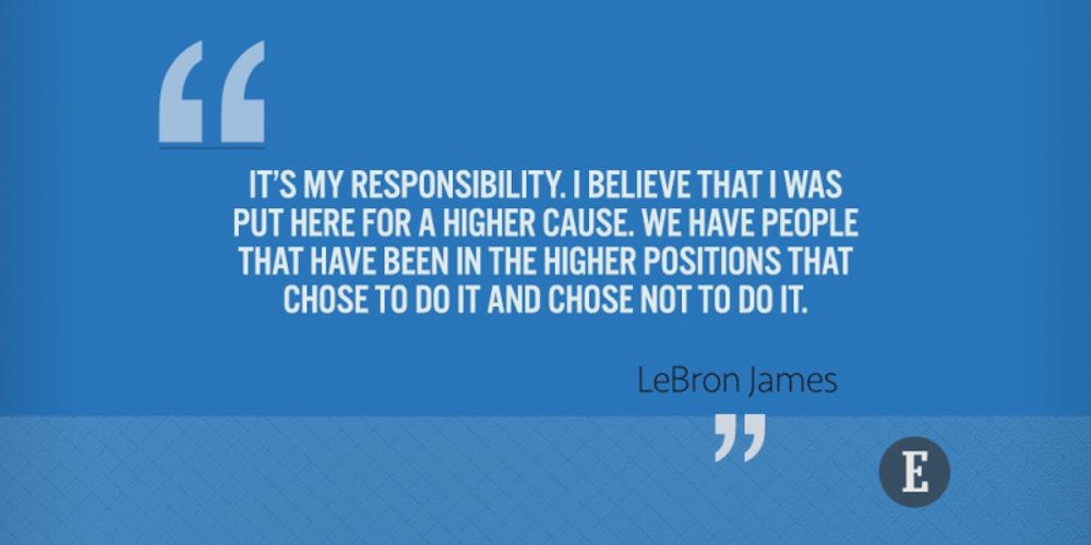 On responsibility