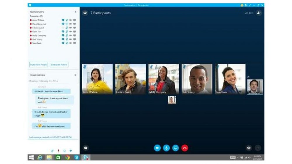 Skype for Business/Wunderlist